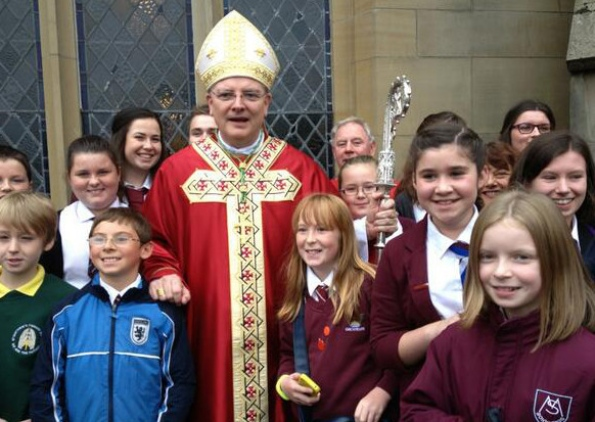 Archbishop Cushley young people.jpg