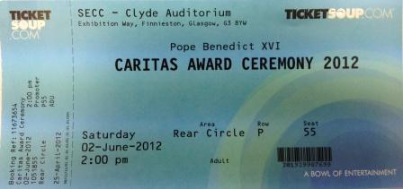 caritas tickets